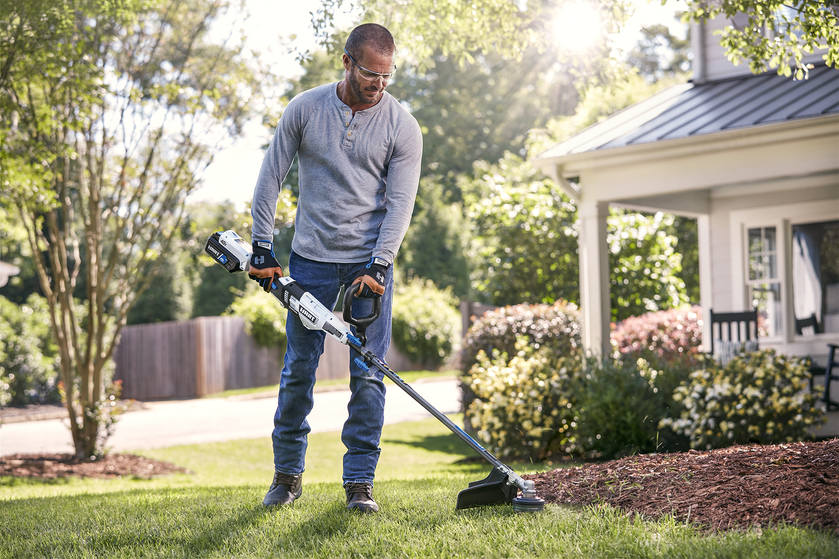 """40V 15"""" String Trimmer- Attachment Capable (Battery and Charger Not Included)banner image"""