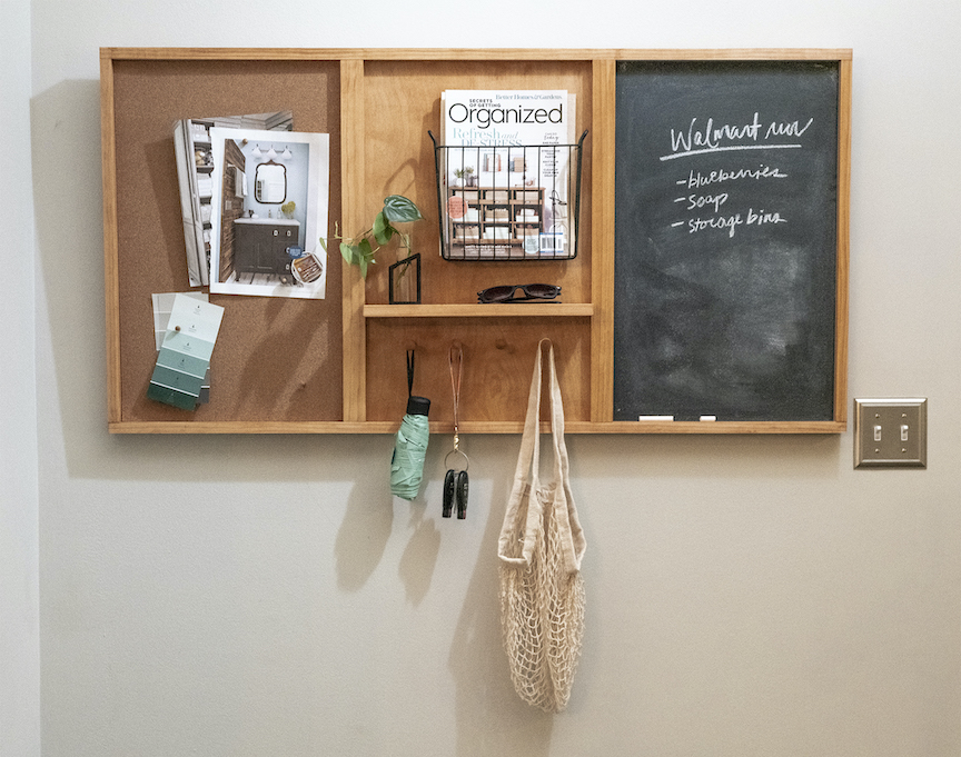 After School Plans: DIY Bulletin Board Organizerimage