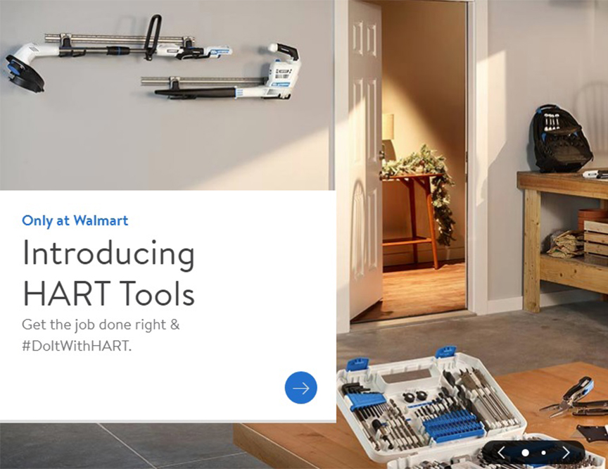 New Hart Tools at Walmart!image