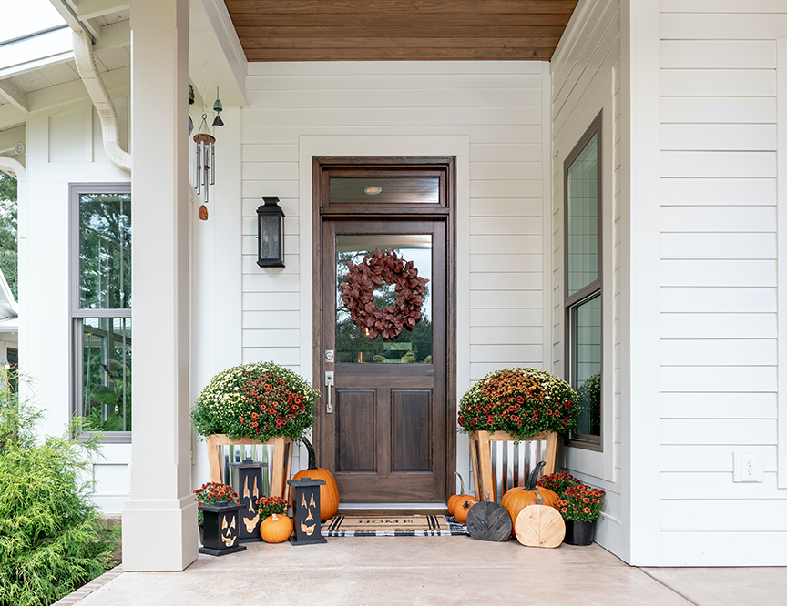 3 Festive Fall Porch Ideas That Are Easy to DIYimage