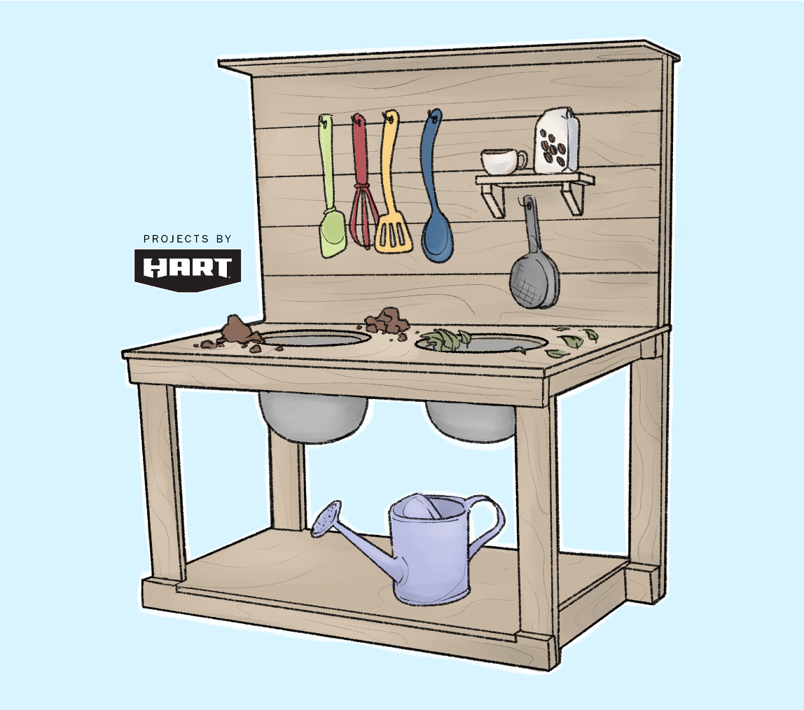 Cook Up Some Fun: DIY Mud Kitchenimage