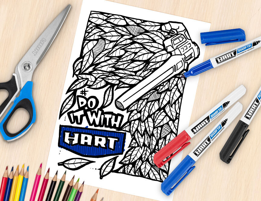 Nail Your Inner Artist: 4 HART Coloring Pages You Never Knew You Neededimage