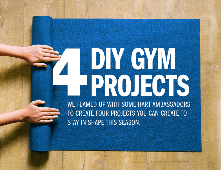 4 DIY Projects to Create Your Own Dream Gym At Homeimage