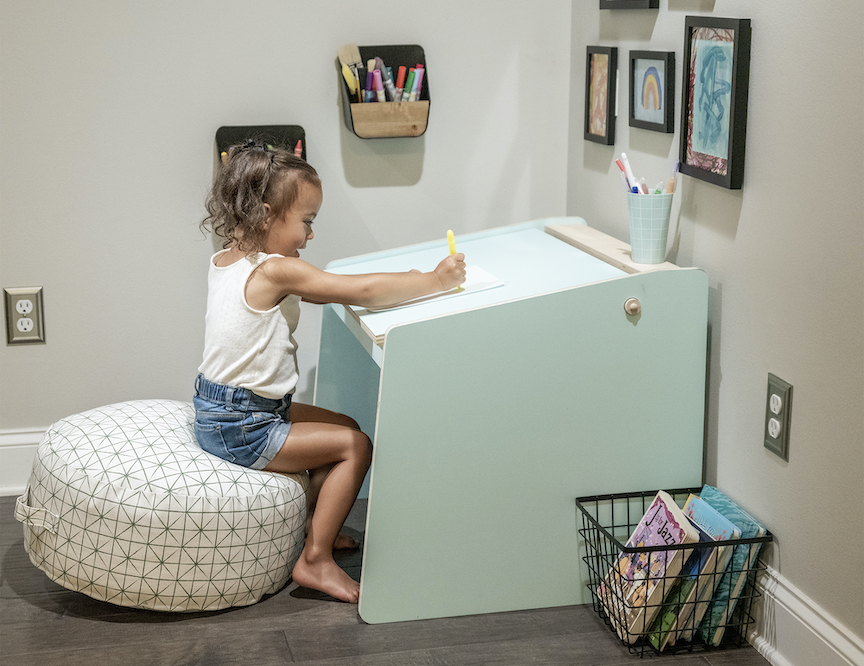 Build the Ultimate Learning Station: DIY Kids Deskimage