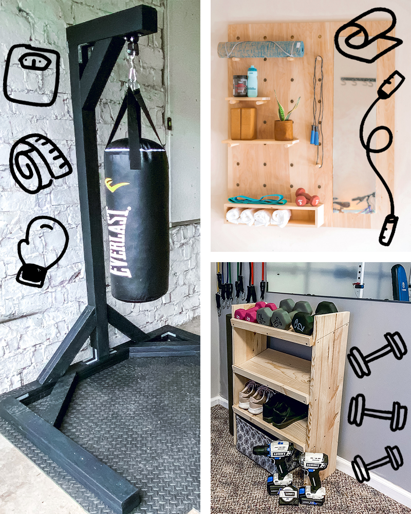 3 DIY Home Gym Projects You Didn't Know You Needed