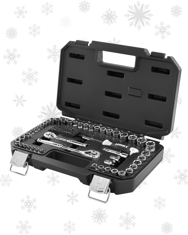 ASSEMBLE & DISSEMBLE ANYTHING WITH THE 90PC MECHANICAL TOOL SET ($44.88)