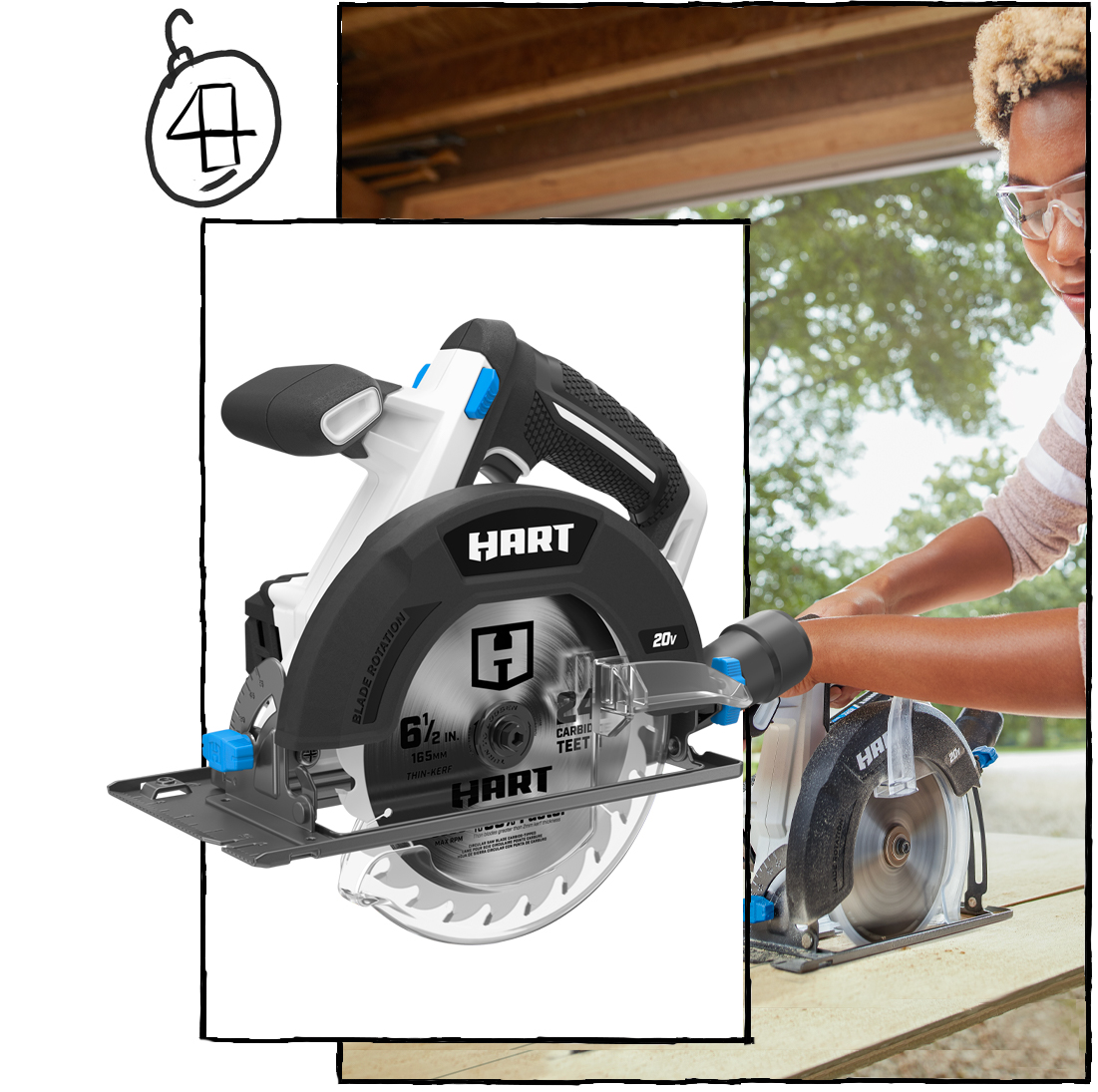 "The Endless Woodworking Opportunities 6-1/2"" Circular Saw Kit ($99)"