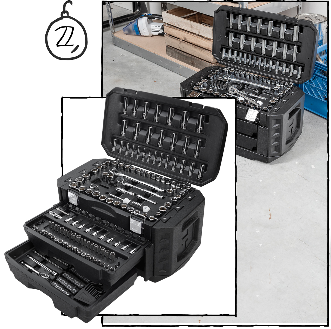 Strengthen Their Bond with the 215 PC. Mechanics Tool Set ($98)