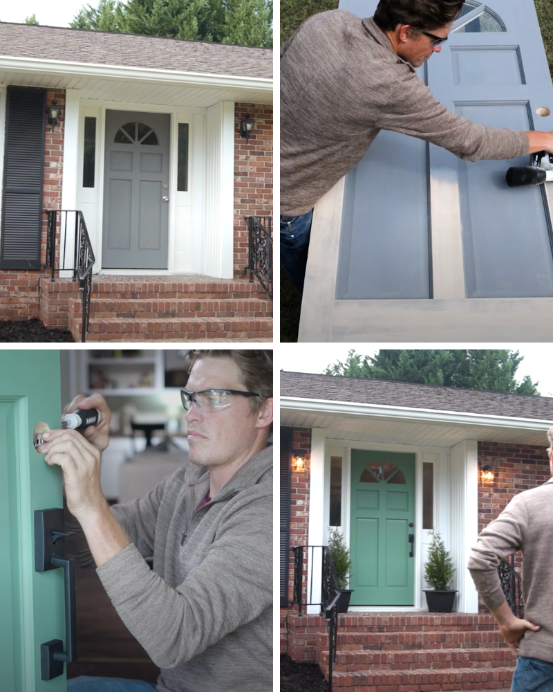 SECOND DOWN: GIVE YOUR FRONT DOOR A FACELIFT