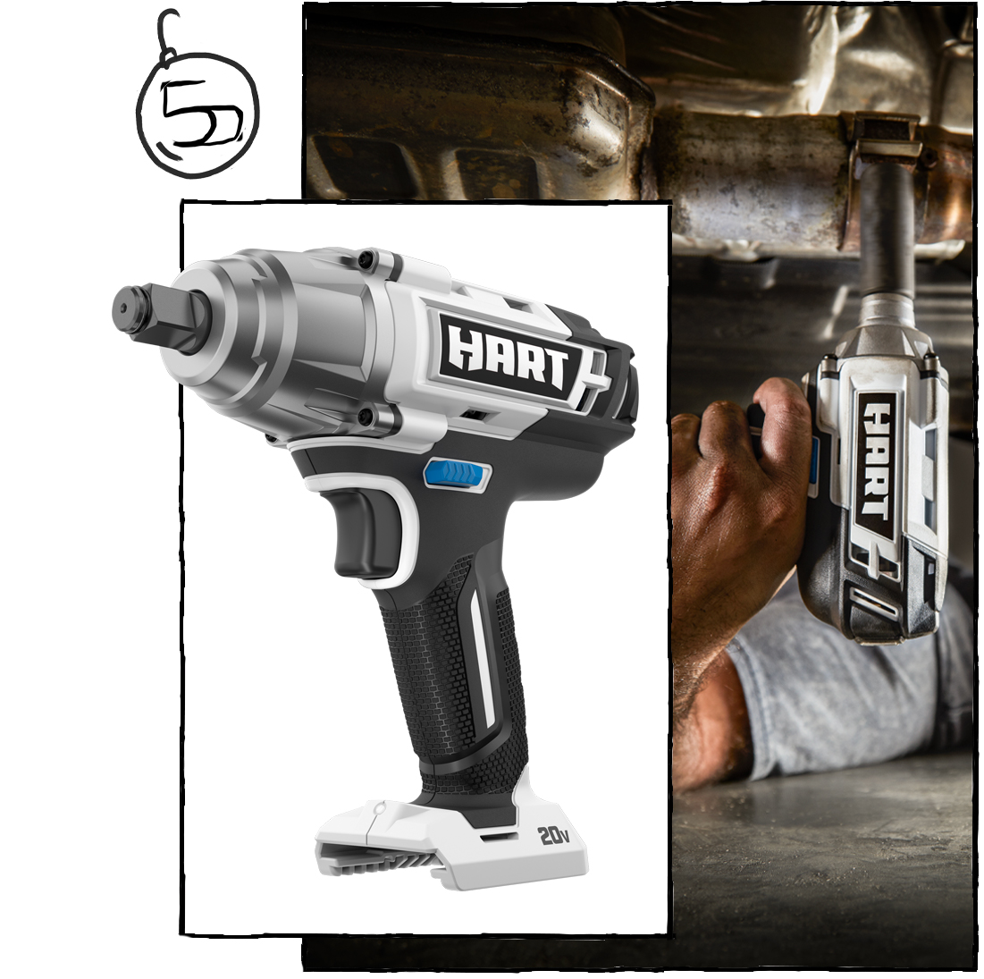 "All Mechanicals and Mechanics Swoon for the 1/2"" Impact Wrench ($119)"