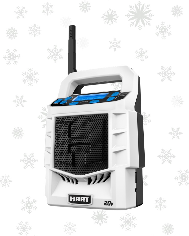 THE SMALL, BUT MIGHTY 20V BLUETOOTH RADIO ($39.77)