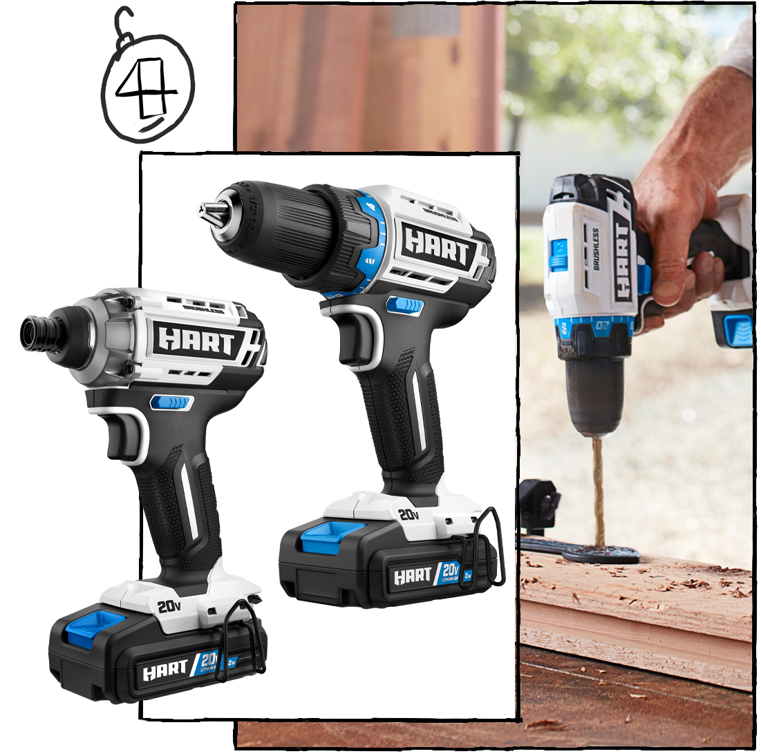 The Big-League-Builder Must-Have: The Brushless Drill & Impact Driver Kit ($178)