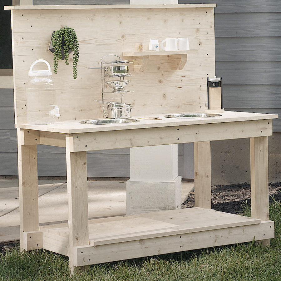 1. DIY MUD KITCHEN