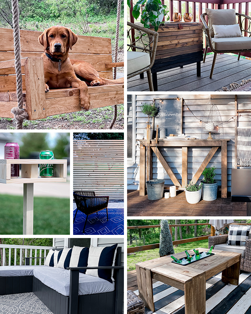 Outdoor Entertaining Project Builds
