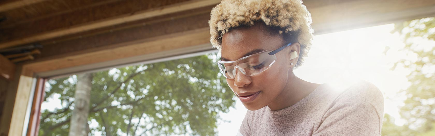 Safety Glasses header image