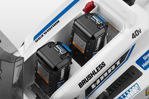 Onboard battery storage feature tile