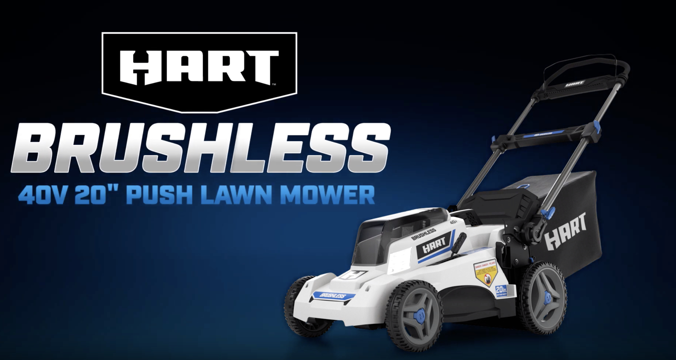 "40V Brushless 20"" Push Lawn Mower"