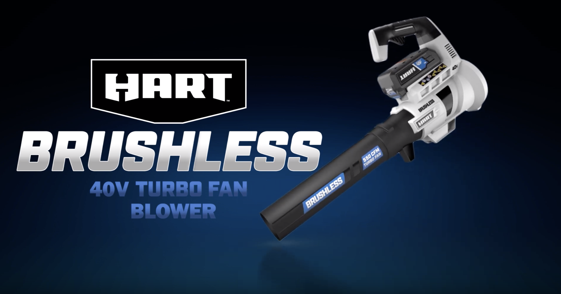 40V Brushless Turbo Fan Blower