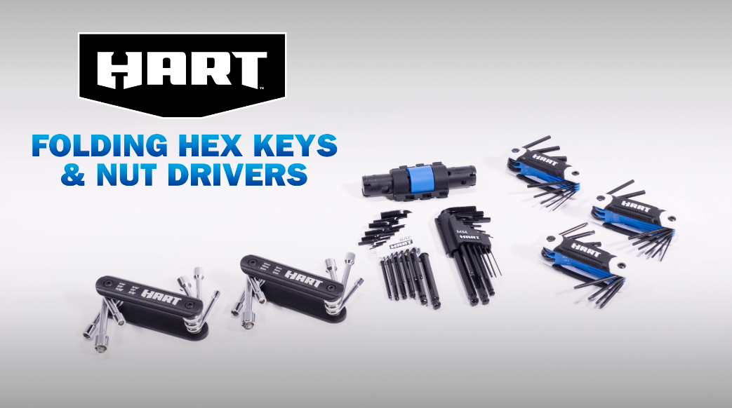 HART Hex Keys and Nut Drivers