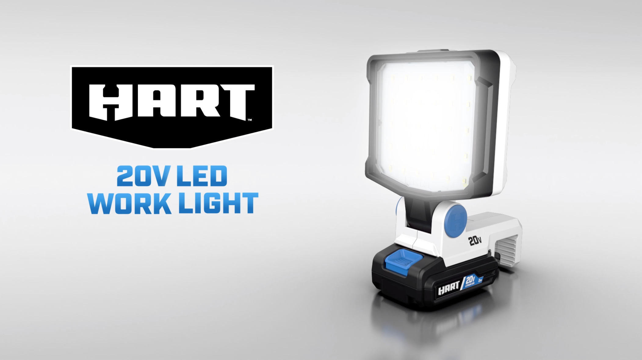 HART 20V LED Work Light