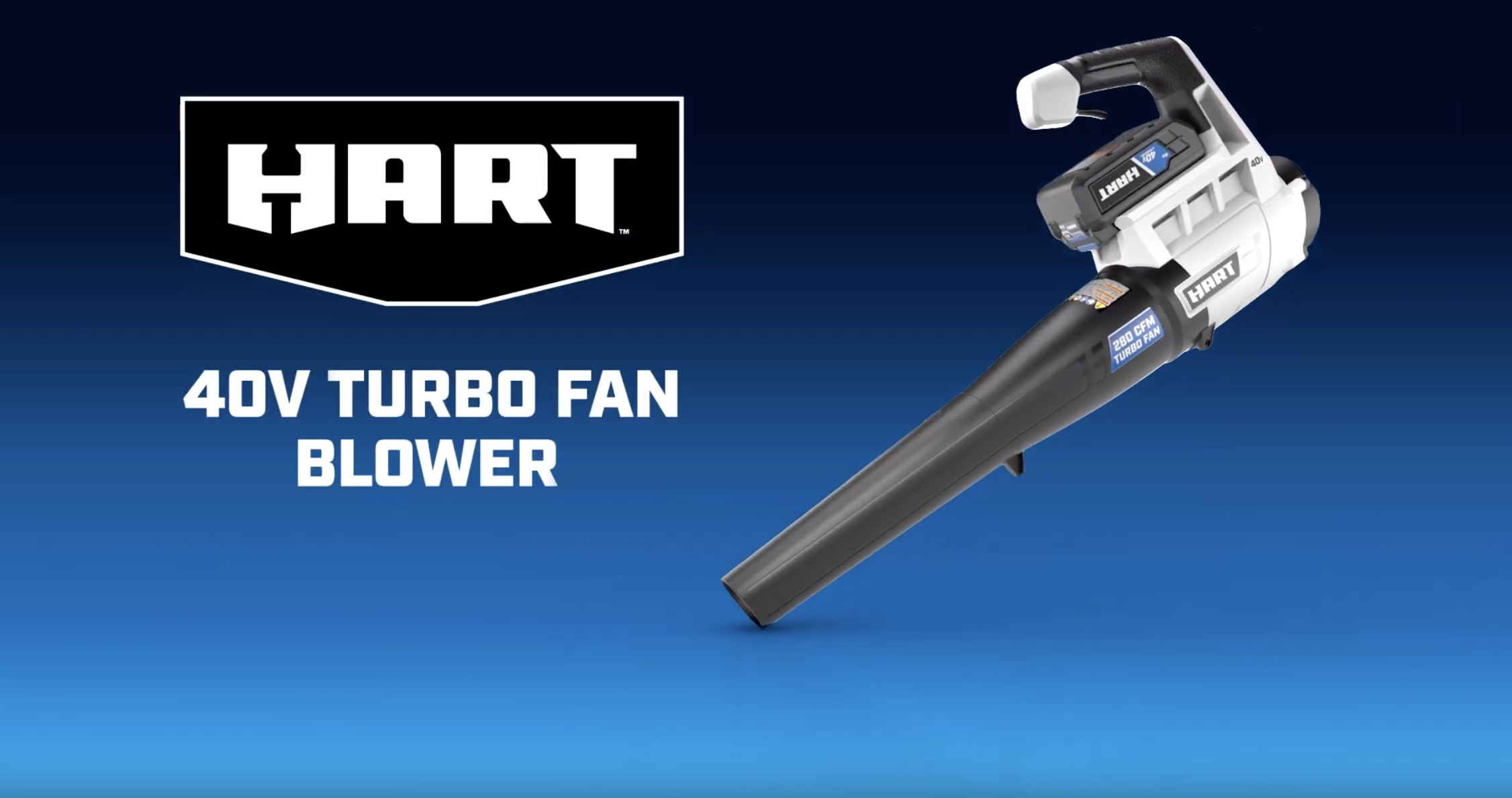 40V Turbo Fan Blower