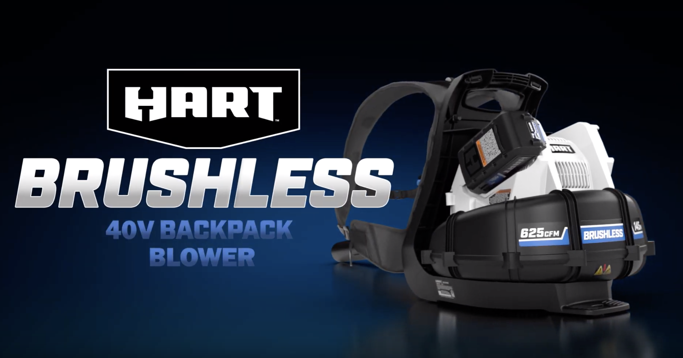 40V Brushless Backpack Blower