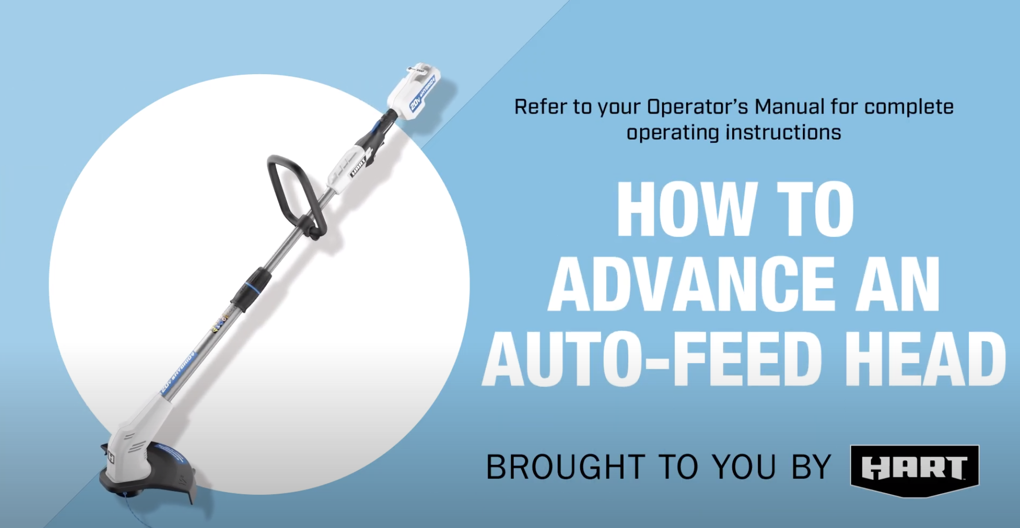 How to Advance Auto Feed Trimmer