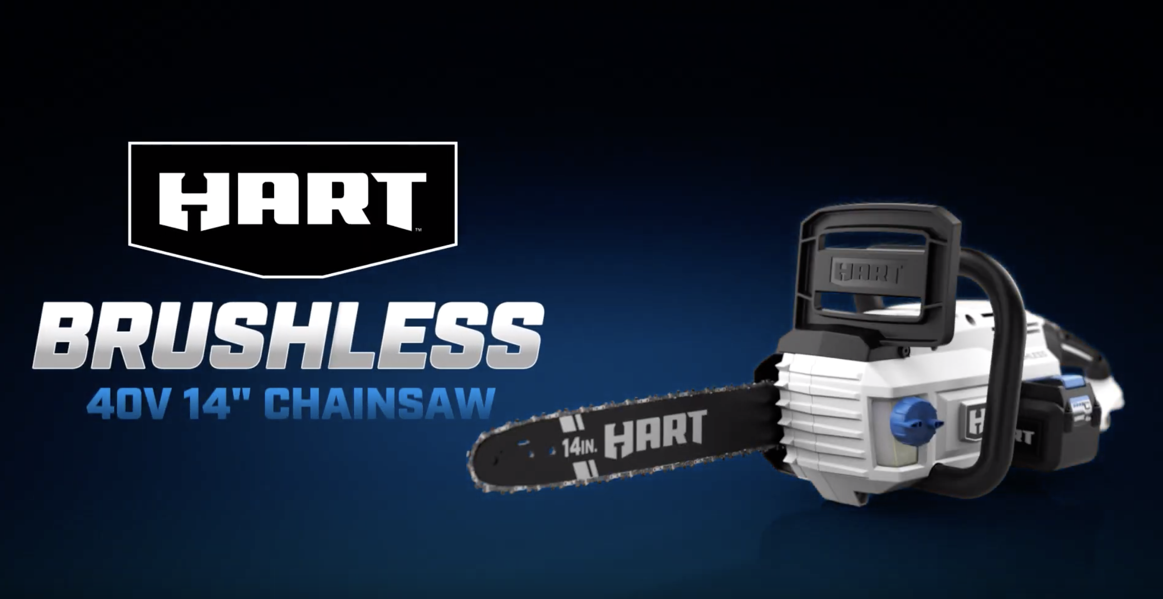 "40V Brushless 14"" Chainsaw"